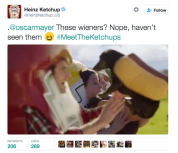 Heinz Meet THe Ketchups