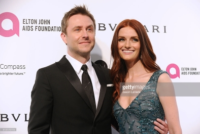 Lydia Hearst Chris Hardwick Elton John AIDS Foundation Oscars