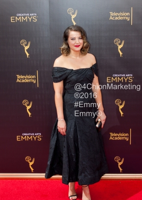 Kat Burns Kathryn Emmys Red Carpet 4Chion Marketing
