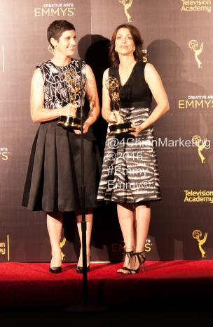 Laura Ricciardi and Moira Demos Emmys 4Chion Marketing