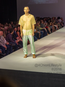 J. Sea Joshua Christensen at Style Fashion Week presents fashion in Palm Springs.