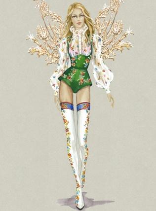Mountain Romance Victoria's Secret Paris Runway Fashion 4Chion Lifestyle