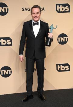 Bryan Cranston SAG Awards 4Chion Lifestyle