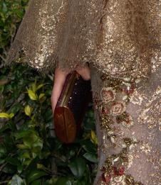 Chrissy Teigen Clutch Golden Globes