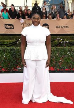 Danielle Brooks OITNB SAG Awards Red Carpet