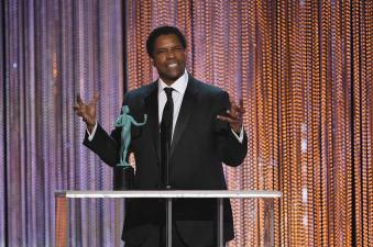 Denzel Washington SAG Awards 4Chion Lifestyle