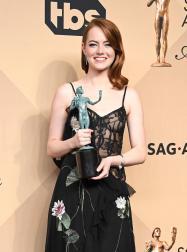 Emma Stone La La Land SAG Award 4Chion Lifestyle