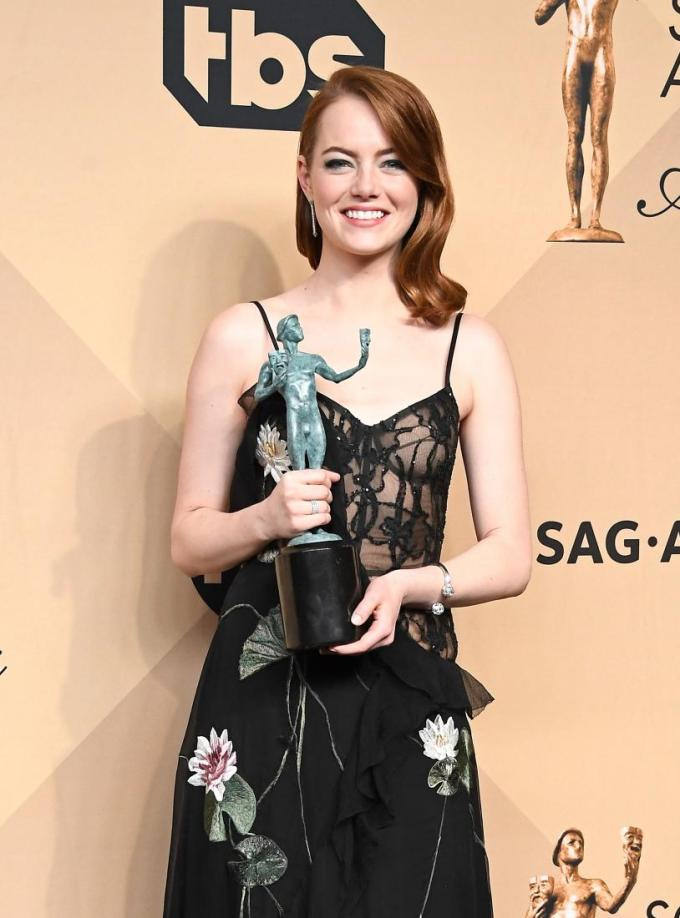 Emma Stone La La Land SAG Award 4Chion Lifestyle