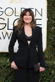 Kathryn Hahn attends the 74th Annual Golden Globes Awards at the Beverly Hilton in Beverly Hills, CA on Sunday, January 8, 2017.