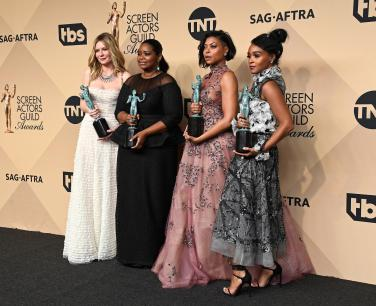Hidden Figures SAG Winners