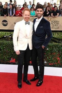 Jesse Tyler Ferguson and Justin Mikita