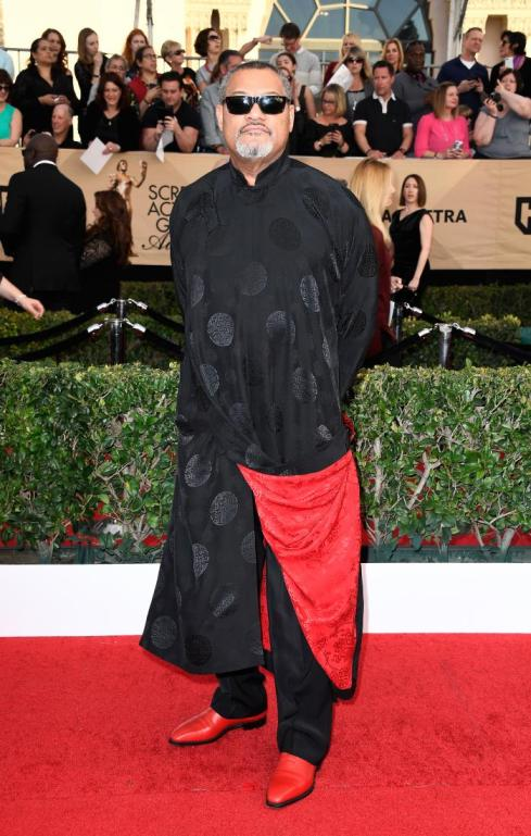 Laurence Fishburne SAG Awards 4Chion Lifestyle