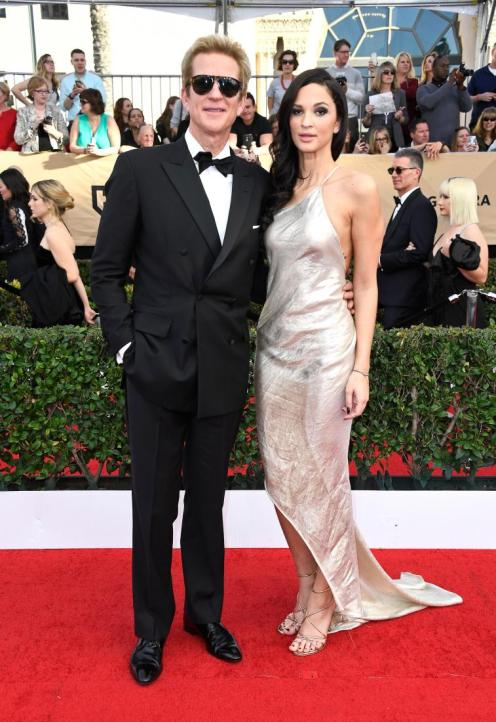Matthew Modine and Ruby Modine