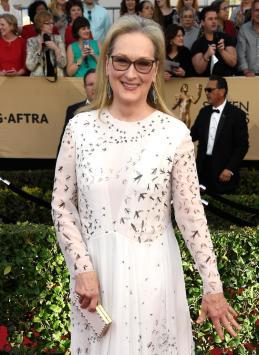 Meryl Streep SAG Awards 4Chion Lifestyle