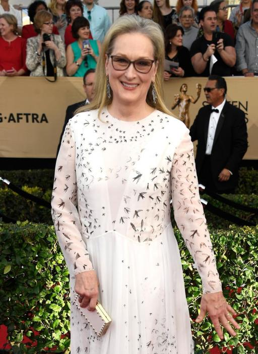 Meryl Streep SAG Awards 4Chion Lifestyle