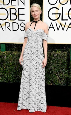 Michelle Williams Golden Globes Red Carpet