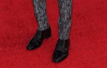 Rami Malek SAG Awards shoes red carpet 4Chion Lifestyle