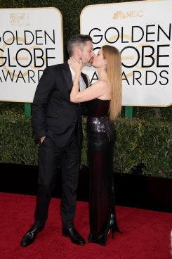 "Darren Le Gallo and nominated for BEST PERFORMANCE BY AN ACTRESS IN A MOTION PICTURE – DRAMA for her role in ""Arrival,"" actress Amy Adams attends the 74th Annual Golden Globe Awards at the Beverly Hilton in Beverly Hills, CA on Sunday, January 8, 2017."