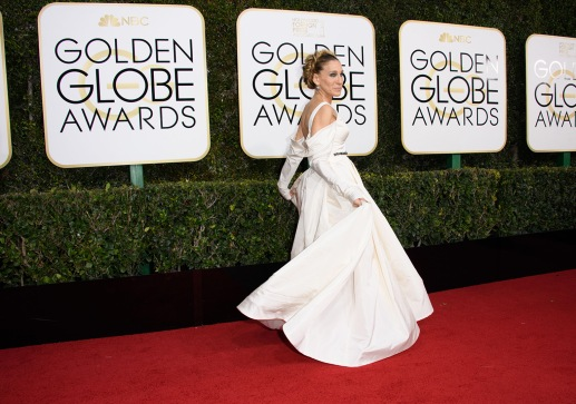 "Nominated for BEST PERFORMANCE BY AN ACTRESS IN A TELEVISION SERIES – COMEDY OR MUSICAL for her role in ""Divorce,"" actress Sarah Jessica Parker attends the 74th Annual Golden Globes Awards at the Beverly Hilton in Beverly Hills, CA on Sunday, January 8, 2017."