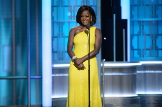 Viola Davis presents the Cecil B. DeMille Award during the 74th Annual Golden Globe Awards at the Beverly Hilton in Beverly Hills, CA on Sunday, January 8, 2017.