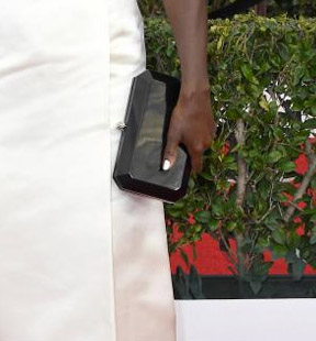 Viola Davis SAG Award clutch styling Red Carpet 4Chion LIfestyle