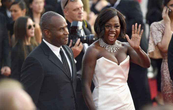 Viola Davis SAG Award Winner Red Carpet 4Chion LIfestyle Nirav Modi Elizabeth Stewart