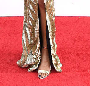 Zuri Hall Shoes Styling SAG Awards 4Chion Lifestyle