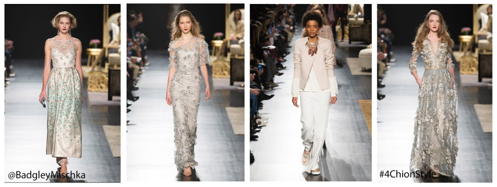 Badgley Mischka NYFW Runway