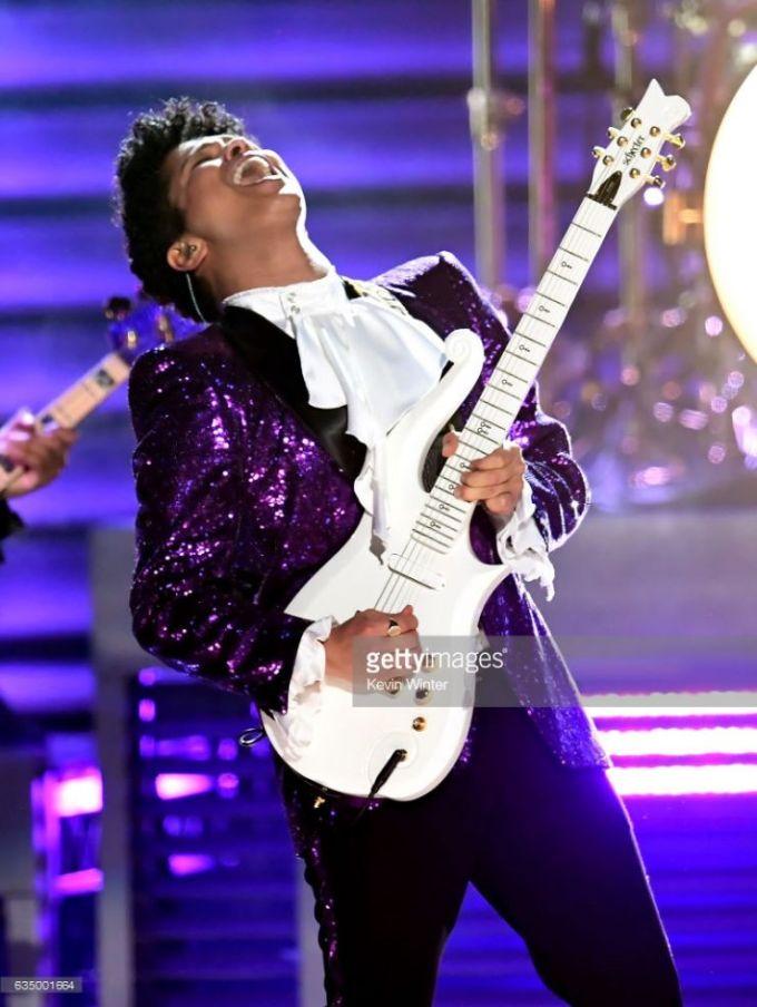 Bruno Mars Grammys Prince 4Chion Lifestyle