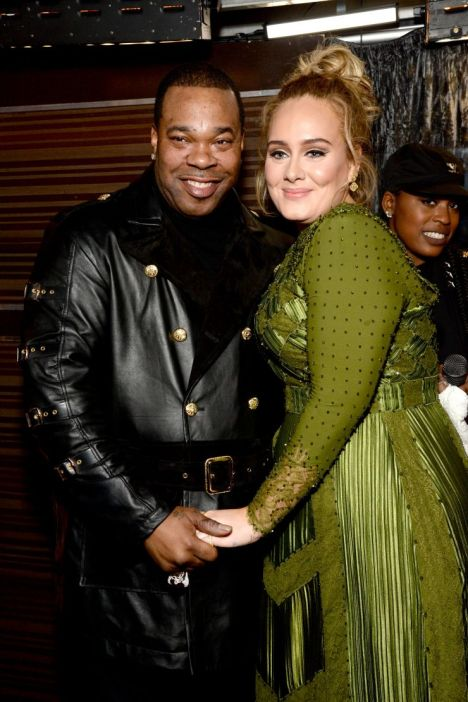 Busta Rhymes and Adele