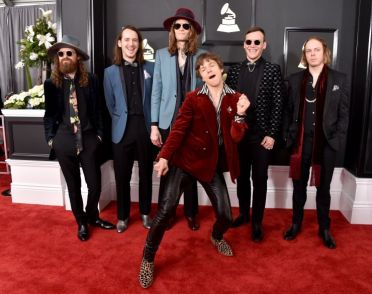 Blink 182 Grammys Red Carpet