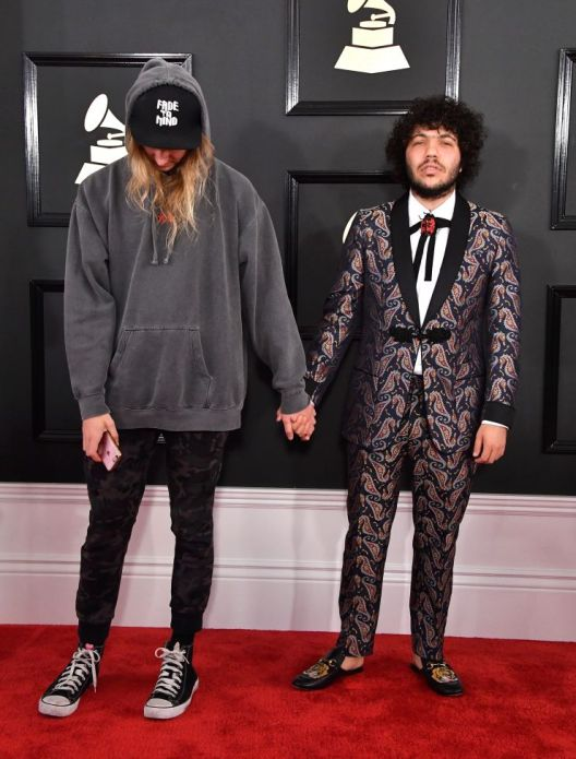 Cashmere Cat Grammys red carpet