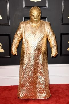 CeeLo Green? Gnarly Davidson Grammys Red Carpet