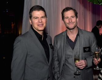 Oscar® nominees Dan Levine and Aaron Ryder at the Oscar Nominee Luncheon held at the Beverly Hilton, Monday, February 6, 2017. The 89th Oscars will air on Sunday, February 26, live on ABC.