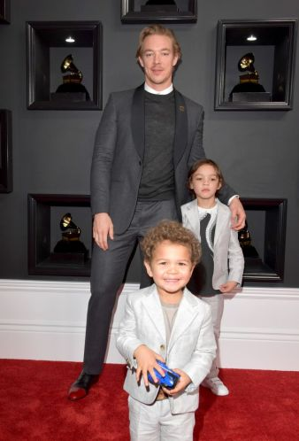 Diplo Grammys Red Carpet