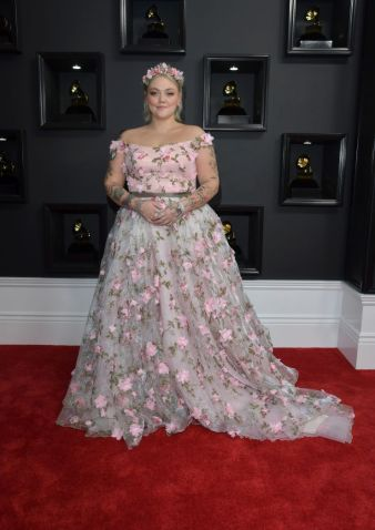 Elle King Grammys Red Carpet 4Chion lifestyle