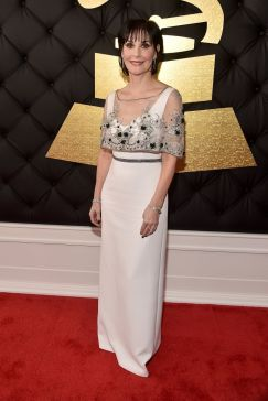 Enya red carpet Grammys 4chion lifestyle