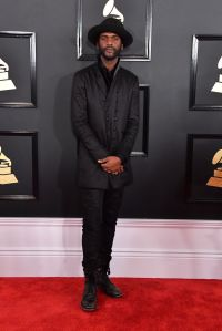 Gary Clark red carpet Grammys 4chionlifestyle
