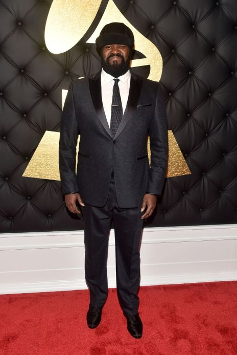 Gregory Porter Grammys red carpet 4chion lifestyle