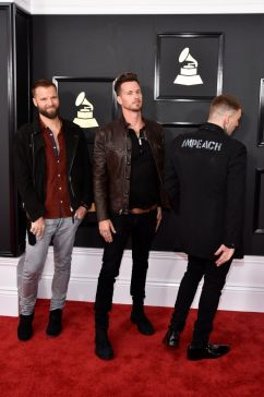 Highly Suspect red carpet Grammys 4chion lifestyle