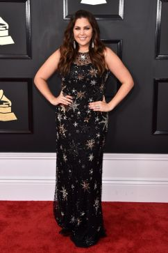 Hillary Scott red carpet Grammys 4chion lifestyle