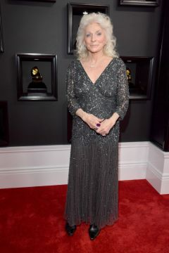 Judy Collins red carpet Grammys