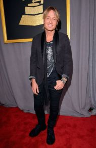 Keith Urban Red Carpet Grammys