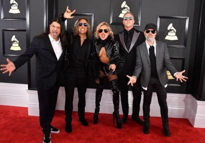 Grammys Lady Gaga Metallica 4Chion Lifestyle