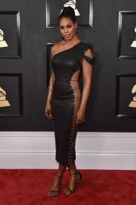 Laverne Cox Grammys Red Carpet