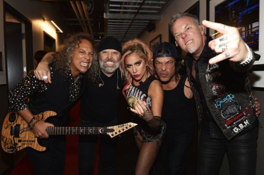 Metallica and Lady Gaga