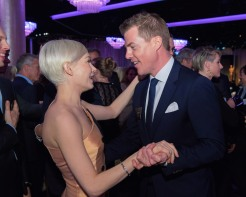 Oscar® nominees Michelle Williams and Kevin J. Walsh at the Oscar Nominee Luncheon held at the Beverly Hilton, Monday, February 6, 2017. The 89th Oscars will air on Sunday, February 26, live on ABC.