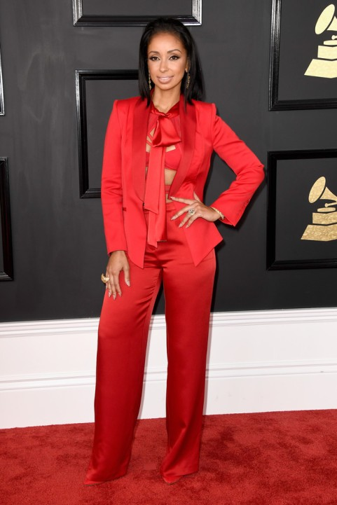 Mya Grammy Red Carpet