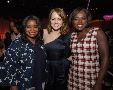 Octavia Spencer, Emma Stone, and Viola Davis Oscar® Nominee Luncheon