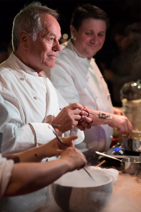 The Academy's Governors Ball Chef Wolfgang Puck